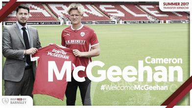 El Barnsley se hace con uno de los futbolistas más talentosos de League Two: Cameron McGeehan