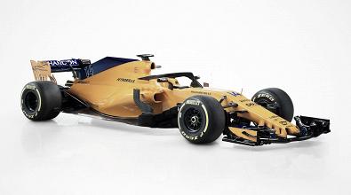 Com laranja e azul, McLaren lança MCL33 para temporada 2018 da Fórmula 1