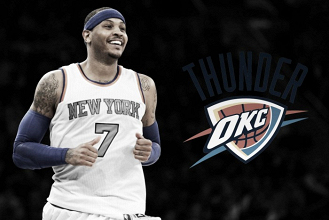 Oklahoma City Thunder acquire Carmelo Anthony in trade with New York Knicks