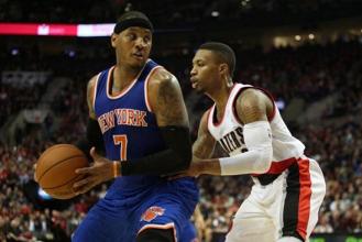 NBA - Portland sulle tracce di Carmelo Anthony? Lillard e McCollum provano a convincerlo