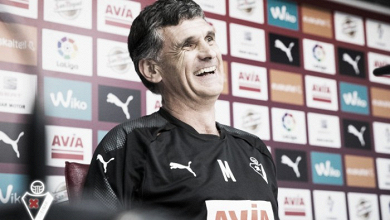 """Mendilibar: """"No empezamos de cero porque el club está consolidado y tenemos una base"""""""