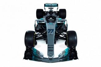 F1, GP di Spagna - La Mercedes prima a mostrare la livrea con i nuovi numeri più grandi