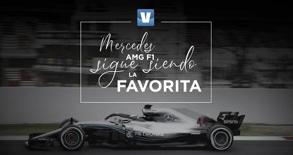 Mercedes AMG F1 sigue siendo la favorita
