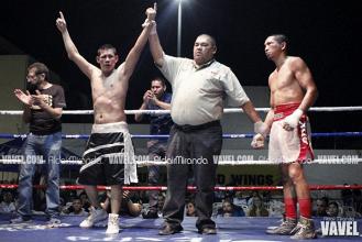 Emocionante noche de box en Culiácan