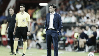 Sensaciones de Marcelino tras el encuentro frente al Sevilla FC