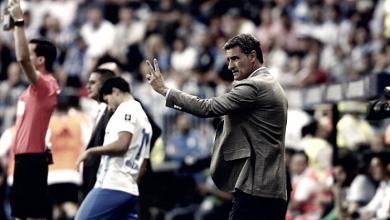 Balance de los tres entrenadores del Málaga CF