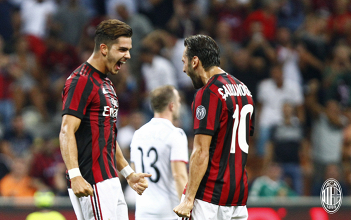 Milan, i sorrisi di Montella. Più qualità in campo e la corsia di destra che corre e crea