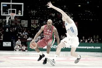 EA7 Milano - Aquila basket Trento in diretta, live playoff Legabasket 2016/2017 (58-68): Trento prova a scappare