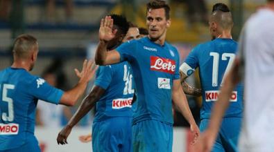 Il Napoli può festeggiare, Milik è tornato
