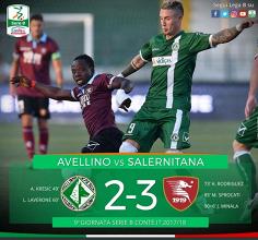Serie B: Minala entra nella storia dei derby tra Avellino e Salernitana