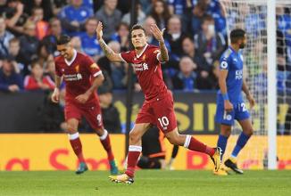 El Liverpool gana un partido no apto para cardíacos en casa del Leicester