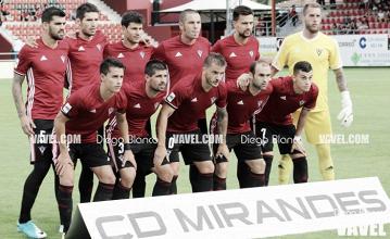 El Mirandés avanza en la Copa del Rey