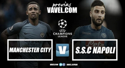 Previa Manchester City - Napoli: duelo por el liderato del grupo