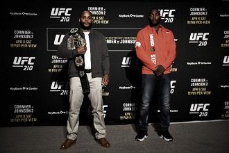 De volta a New York, UFC 210 terá revanche entre Cormier e Johnson pelos meio-pesados