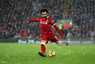 Mohamed Salah starts alongside rest of 'Fab Four' as Liverpool host Baggies