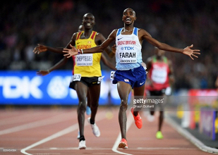 London 2017: Mo Farah battles hard for final 10,000m gold