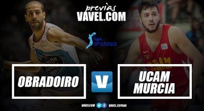 Previa Obradoiro - UCAM Murcia: un último esfuerzo antes del parón