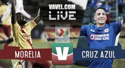 Resultado y goles del Monarcas 1-2 Cruz Azul de la Liga MX 2017