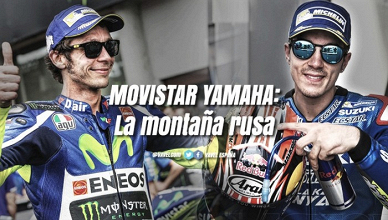 Yamaha Movistar: la montaña rusa
