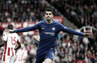 """Morata: """"Enviamos un mensaje a toda la Premier, Chelsea está en lucha por el título"""""""