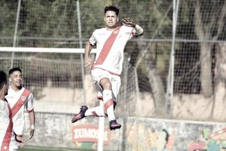 Sergio Moreno: con un futuro asegurado en Vallecas
