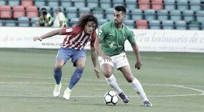 El Guijuelo arranca la pretemporada con derrota ante el Sporting de Gijón