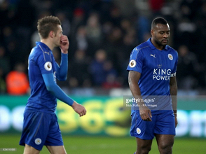 Leicester captain Wes Morgan missing for Arsenal clash