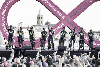 Giro de Italia 2017: Movistar Team, a la conquista del territorio enemigo