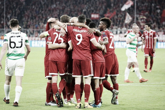Bayern le gana al Celtic sin mucho esfuerzo