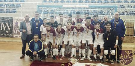 Murcia completa el triplete con el campeonato de España sub 16
