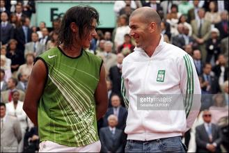 Rafael Nadal reage à saída de Zidane do Real Madrid