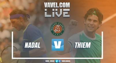 Rafael Nadal vence Dominic Thiem na semifinal de Roland Garros (3-0)