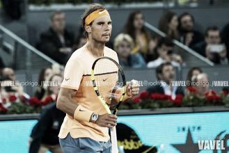 """Rafael Nadal: """"Moyá ha sido una inyección de energía positiva para mí"""""""