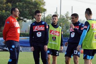 Napoli, ripresa degli allenamenti a CastelVolturno: il Milan sullo sfondo