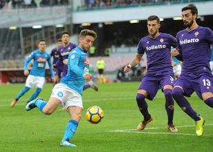 Serie A - Napoli in riserva, la Fiorentina esce indenne dal San Paolo (0-0)