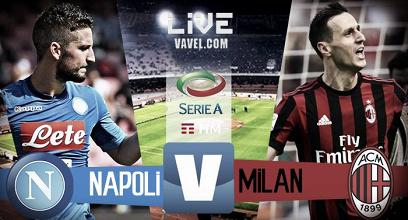 Napoli - Milan in diretta, LIVE Serie A 2017/18 (2-1): Gli azzurri vincono al San Polo!