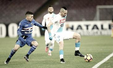 Sampdoria e Napoli all'ultima ballata stagionale