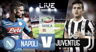 Terminata Napoli - Juventus, LIVE Serie A 2017/18 (0-1): Higuain manda in estasi la Vecchia Signora!