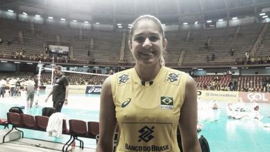 Capitã da Seleção, Natália avalia vitória do Brasil em amistoso e projeta estreia no Grand Prix