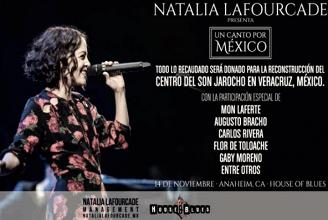 Natalia Lafourcade, 'Un canto por México'