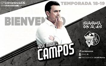 José Miguel Campos, nuevo entrenador del Salmantino