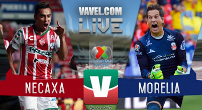 Resultado y goles del Necaxa 1-2 Monarcas Morelia de la Liga MX 2017