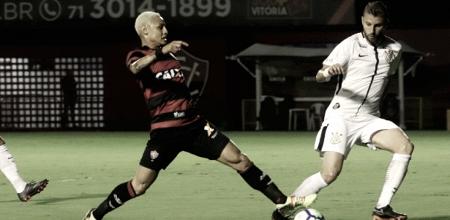 """Mancini elogia atuação do Vitória após empate com Corinthians: """"Melhor jogo na temporada"""""""