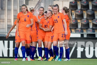 Netherlands unveil their squad for UEFA Women's Euro 2017