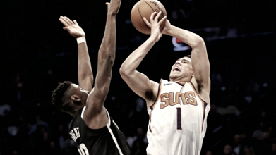 Phoenix Suns' guards lead their team to victory against Brooklyn Nets, 122-114