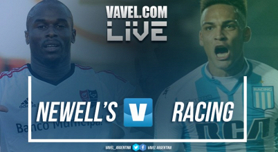 Newell's vs Racing en vivo online por la Superliga 2017(2-2)