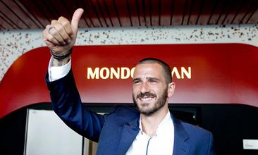 Milan, ora è ufficiale: Bonucci è rossonero fino al 2022
