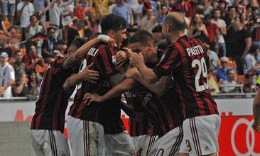 Serie A- Tris del Milan al Bologna. I rossoneri ritornano in Europa dopo tre anni