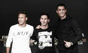 Cristiano Ronaldo, Messi e Neymar são indicados à finalíssima do prêmio de melhor do mundo