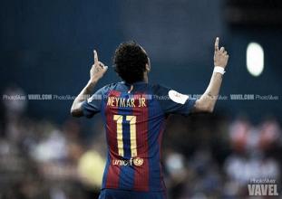 Neymar Jr, tres finales de Copa consecutivas marcando